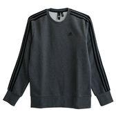 Adidas ESS 3S CREW B  長袖上衣 DJ2665 男 健身 透氣 運動 休閒 新款 流行