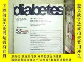 二手書博民逛書店DIABETES:A罕見Journal of the american diabetes association
