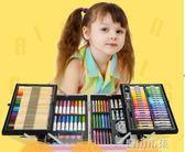 繪畫套裝 兒童畫筆套裝禮盒畫畫工具小學生無毒可水洗水彩筆繪畫美術用品YYJ 青山市集