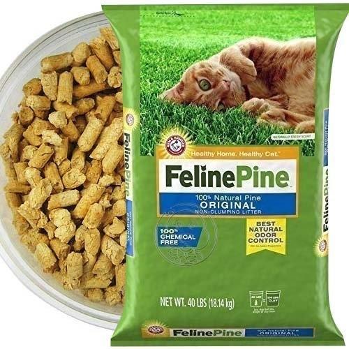 【培菓平價寵物網】健康班比(斑比)松樹砂 松木砂 木屑砂 貓砂40磅*2包 免運可扛上樓