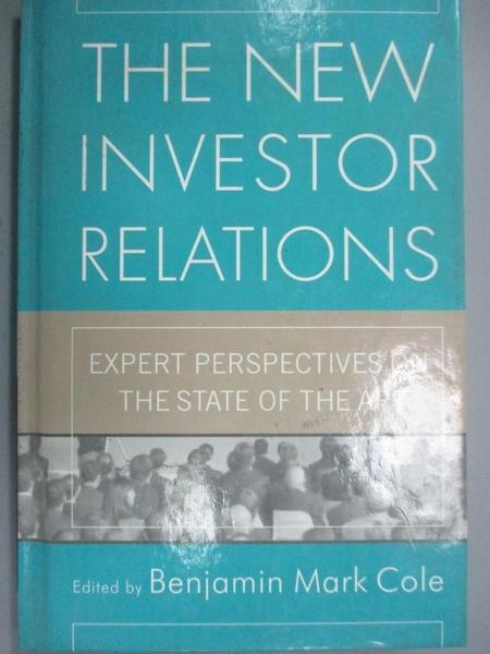 【書寶二手書T8/藝術_E2I】The New Investor Relations: Expert Perspecti