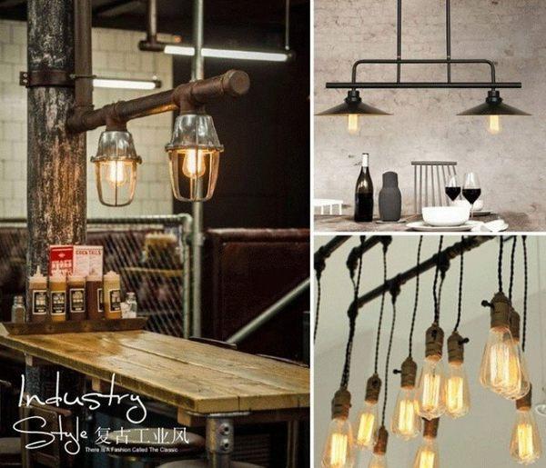 復古ST64懷舊鎢絲造型燈泡 40W愛迪生E27美式LOFT餐廳咖啡廳酒吧居家(茶色玻)
