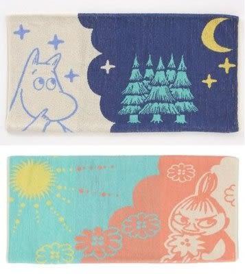 尼德斯Nydus 日本正版 Moomin 嚕嚕米 姆明 小美 阿美 小不點 枕頭套 毛巾布 34x64 cm