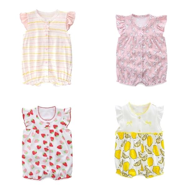 短袖連身衣 包屁衣連身裝 棉質嬰兒服 兔裝 寶寶童裝 NT4236 好娃娃
