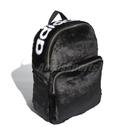 【四折特賣】adidas 後背包 Classic Backpack 黑 白 Logo 時尚 絨毛 毛毛 男女款 【ACS】 DH4373