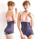 塑身褲  頂級手工專屬量身訂製無痕高腰曲線塑身提臀褲M~XXL(藍色)【Daima黛瑪】