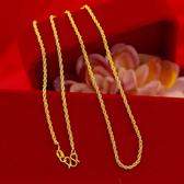 【獨愛精品】日韓時尚純銅電鍍不退色細鎖骨男女士款項鍊 飾品 手鍊 腳鍊 練繩