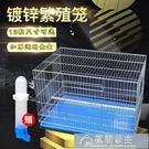 鳥籠 鸚鵡鳥籠中大型飛行鍍鋅八哥虎皮牡丹加粗養殖繁殖大號鳥籠子 快速出貨YJT快速出貨