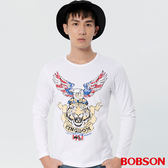 BOBSON 男款印圖上衣 (37017-80)