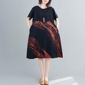 依多多 中長款連身裙 3色(L~2XL)