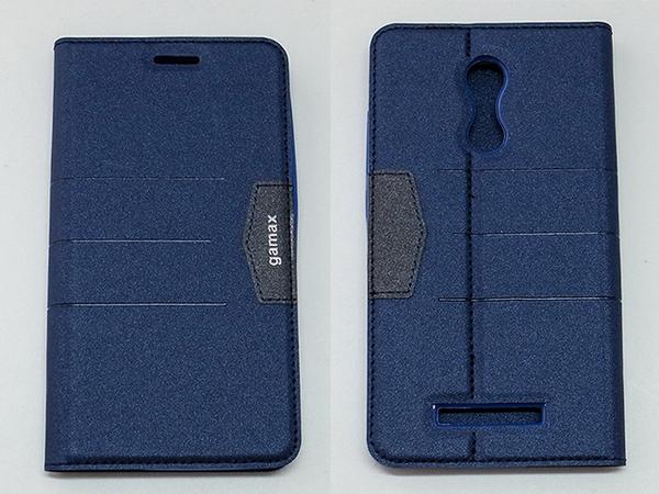 gamax完美系列 Xiaomi 紅米Note 3 簡約綴色側翻手機保護皮套 磁吸插卡側立 內TPU軟殼全包防摔