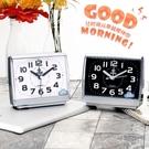鬧鐘 鬧鐘學生時鐘簡約時尚靜音創意電子鐘床頭兒童家用小擺件鐘表鬧鐘 全館免運