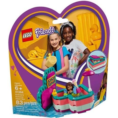 樂高積木 LEGO《 LT41384 》Friends 姊妹淘系列 -   安德里亞的夏日心型盒╭★ JOYBUS玩具百貨