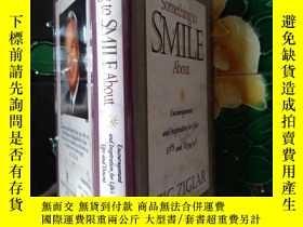 二手書博民逛書店SOMETHING罕見TO SMILE ABOUT(籤贈本)Y1