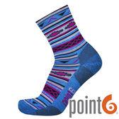 【POINT 6 美國】Taos extra light 3/4健行輕量中筒羊毛襪 『藍』22612820 405 保暖襪|羊毛