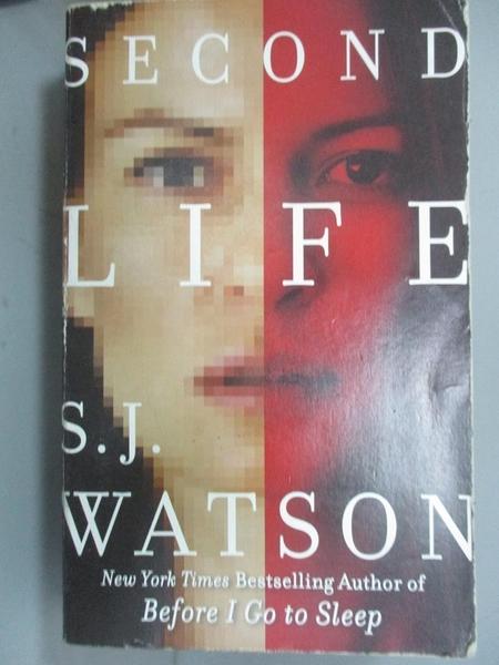 【書寶二手書T6/原文小說_KIG】Second Life_S. J. Watson