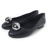 Petite Jolie 金屬球球果凍娃娃鞋-黑色