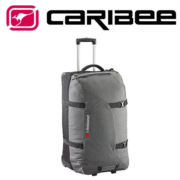 澳洲 Caribee Globe Master 100 拖輪包 100L 灰/黑 CB-5715 行李箱│旅遊│旅行