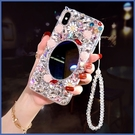 蘋果 iPhone12 iPhone11 12mini 12Pro Max SE2 XS IX XR i8+ i7 i6 凡爾賽花園 手機殼 水鑽殼 訂製
