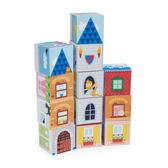 【美國Tender Leaf Toys】夢想小屋積木(12塊精美插圖的堆疊積木)