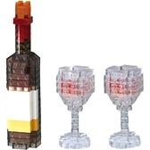 《Nano Block迷你積木》【 美味料理系列 】NBC-304 酒瓶 / JOYBUS玩具百貨