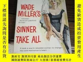 二手書博民逛書店Sinner罕見take all 金牌叢書Y97152 出版1961