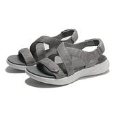 SKECHERS 涼鞋 ON THE GO 600 灰色 交叉 涼鞋 女 (布魯克林) 140027GRY