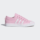 Adidas Nizza W [CQ2539] 女鞋 情侶 經典 帆布 休閒鞋 低筒 百搭 基本 愛迪達 粉紅