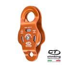 鋁合金滑輪2P661 Climbing Technology/城市綠洲(橘色、鋁合金、義大利製造)