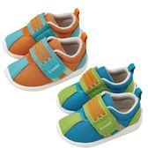 【機能鞋款出清中】Combi 康貝 活力森林幼兒機能鞋-湖水藍/琥珀橘(12.5cm)