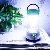 露營燈 戶外露營燈野營太陽能可充電超亮手提照明應急燈家用LED帳篷馬燈 Cocoa