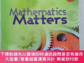二手書博民逛書店Mathematics罕見Matters TEXTBOOK SPECIAL EXPRESS SECONDARY 3