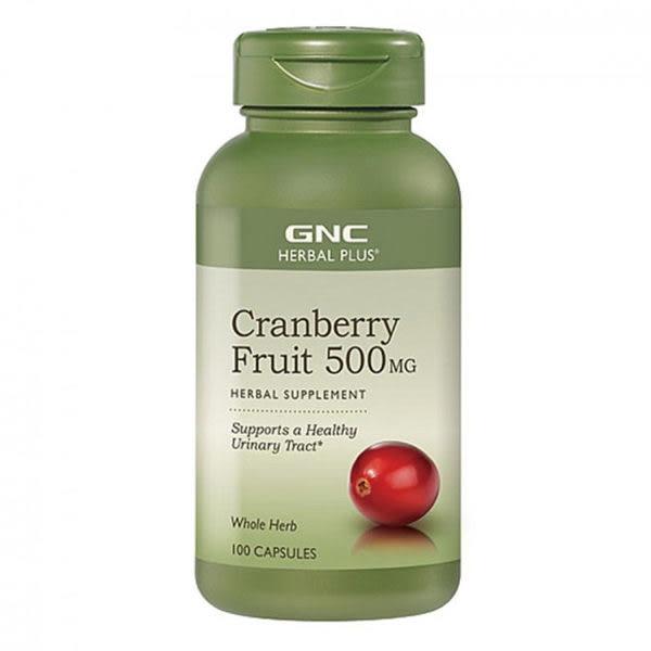 元氣健康館【GNC健安喜】蔓越莓膠囊食品100顆