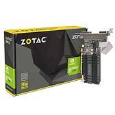 ZOTAC 索泰 GeForce? GT 710 2G 顯示卡