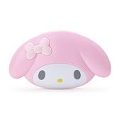 小禮堂 美樂蒂 大臉造型鏡梳組 (粉色款) 4550337-97926
