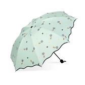 晴雨傘女折疊兩用遮陽傘太陽傘大號防曬防紫外線 ☸mousika