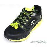 SKECHERS (男) 回彈力慢跑鞋 SRR PRO-RESISTANCE 訓練專用 - 999738BKLM 黑綠[陽光樂活]