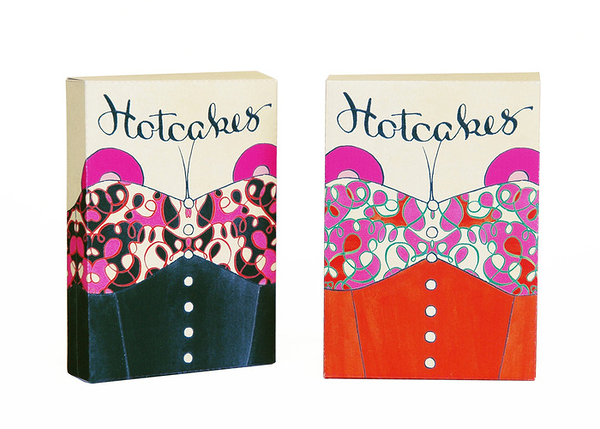 【USPCC 撲克】Hotcakes Playing Cards LE black/Red
