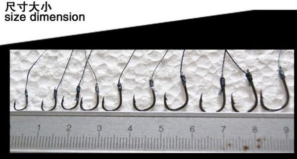 [協貿國際] 魚鉤套裝大力馬線 10 個價