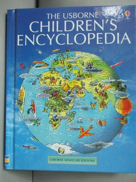 【書寶二手書T7/原文小說_KEL】Mini Children s Encyclopedia (Mini Usborne
