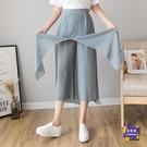 雪紡褲 2020春裝新款時尚高腰顯瘦薄款...