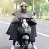 電動摩托車擋風被冬季連體電瓶車電車加厚加絨冬天防水防風罩擋