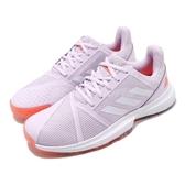 adidas 網球鞋 CourtJam Bounce W 紫 白 輕量 基本款 運動鞋 女鞋【PUMP306】 EF2764