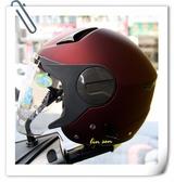 ZEUS瑞獅安全帽,ZS-612A,素色/消光酒紅