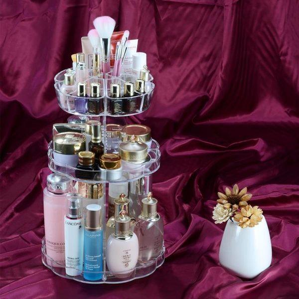 聖誕交換禮物-化妝品收納盒創意梳妝置物架