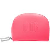 【17go】 Dior 迪奧 煙粉時尚半月皮革包