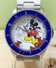 【震撼精品百貨】米奇/米妮_Micky Mouse~日本迪士尼限量米奇鐵錶/手錶-藍#84792