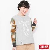 CHUMS 日本 女 Inlay 個性刷毛衣 Booby迷彩 CH101041Z045
