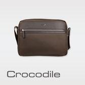 Crocodile Crocodile Wind 2.0系列布配皮橫式斜背包(L) 0104-08004