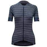 【亞特力士ATLAS】 女舒適款短袖車衣-條紋‧灰 24℃~30℃ WJF-312-GY